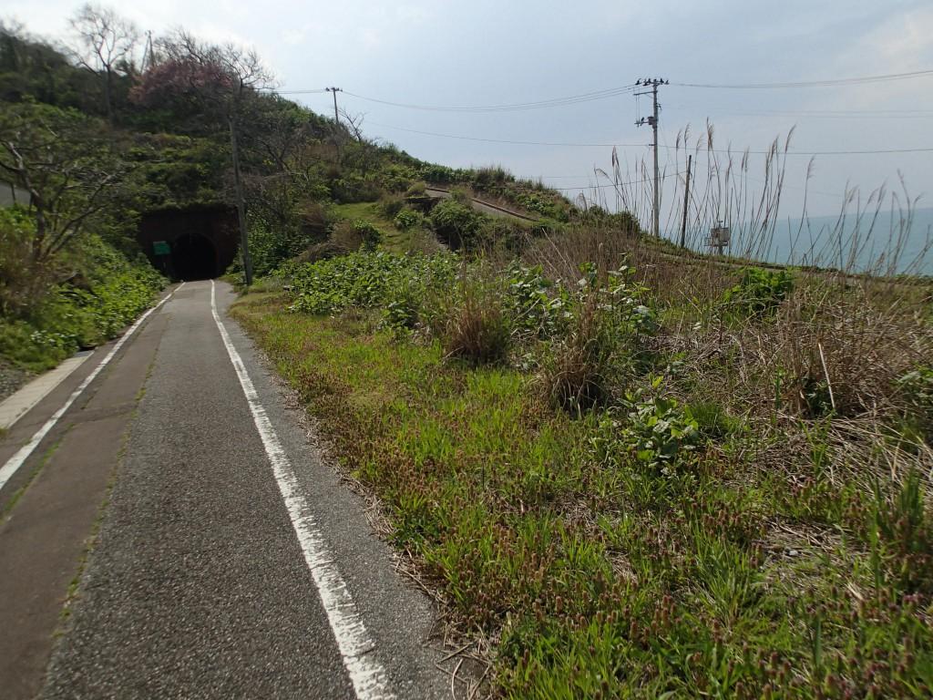 13:55 5番目の大抜トンネル。